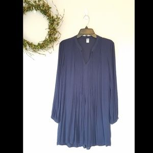 Old navy pleated tunic dress